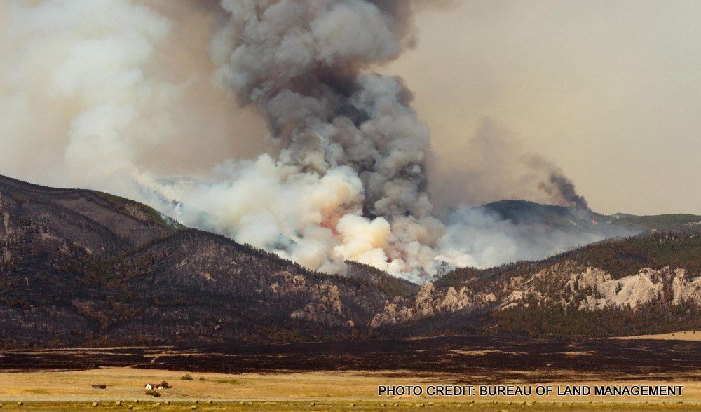 July Fire in Phillips County.