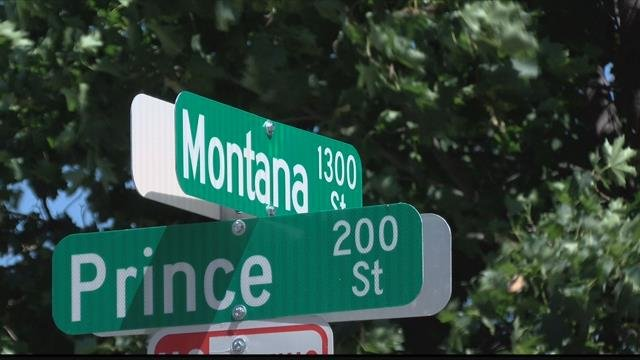 A woman was stabbed several times during the home invasion in the 1300 block of Montana Street. (MTN News photo)