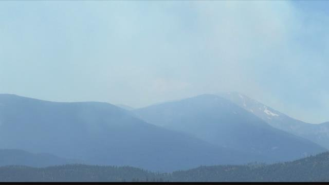 Several area wildfires keep pouring smoke into the air across Western Montana. (MTN News photo)