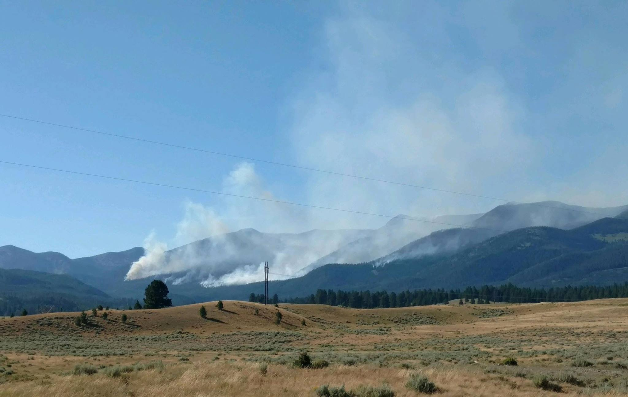 Arrastra Creek Fire (courtesy of the Helena- Lewis and Clark National Forest Service)