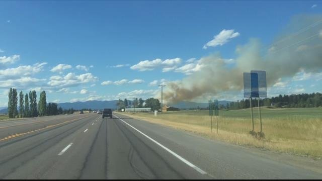 Nearly two dozen human-caused fires have been reported recently in Flathead County. (MTN News photo)