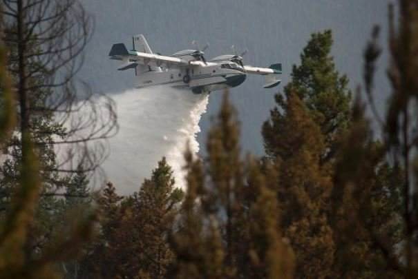 The Rice Ridge fire is burning 2 miles northeast of Seeley Lake. (inciweb.org photo)
