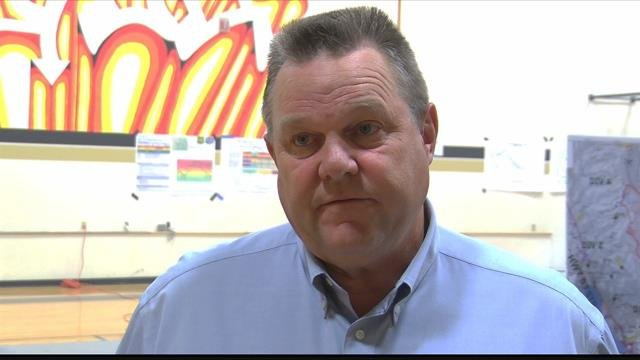 """I'm going to tell ya, every airplane, every helicopter, every Guard unit is being utilized to the max,"""" Sen. Jon Tester (D-MT) said. (MTN News photo)"""