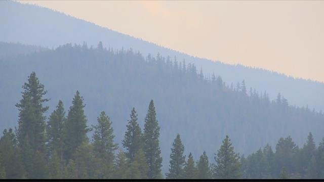 Pre-evacuation notices remain in effect along part of Highway 12 west of Lolo. (MTN News photo)