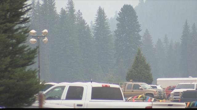 Health officials are urging Seeley Lake residents to leave the area due to Hazardous air quality in the area. (MTN News photo)