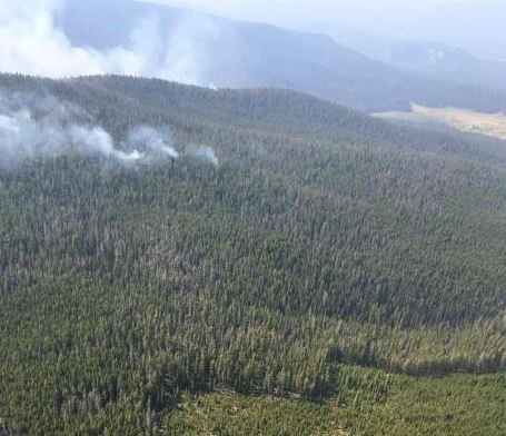 Evacuation notices remian in effect near the Meyers fir in Granite County. (inciweb.org)