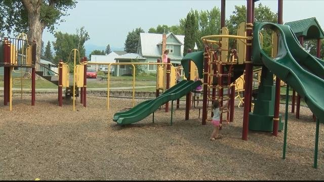 Police were called after kids started having reactions to pepper spray on the playground equipment at Riverside Park. (MTN News photo)