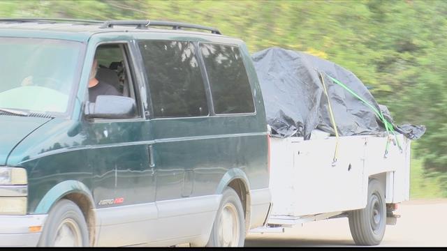 Approximately 160 homes remain under mandatory evacuation west of Lolo. (MTN News photo)