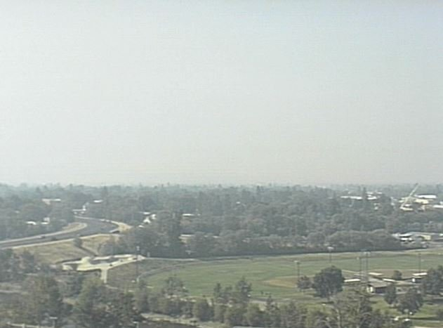 The view from the KPAX - St. Patrick Hospital Eyecam on Wednesday morning.