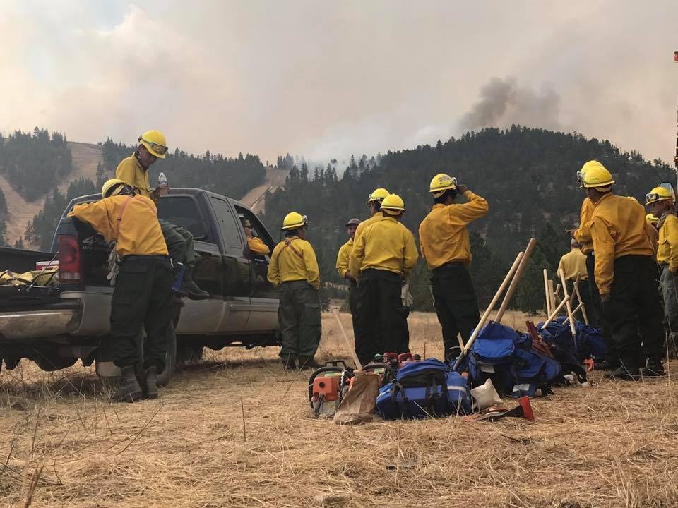 Lolo Peak fire rows to almost 19000 acres