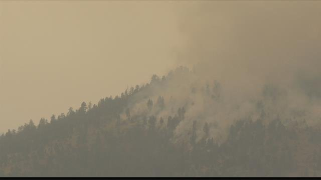 It's cost $22 million so far just to fight the Lolo Peak fire, (MTN News photo)