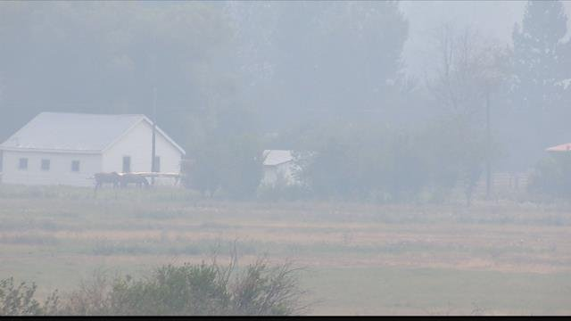 Hazardous air quality is expected again on Thursday morning in Florence, Lolo and Seeley Lake. (MTN News photo)