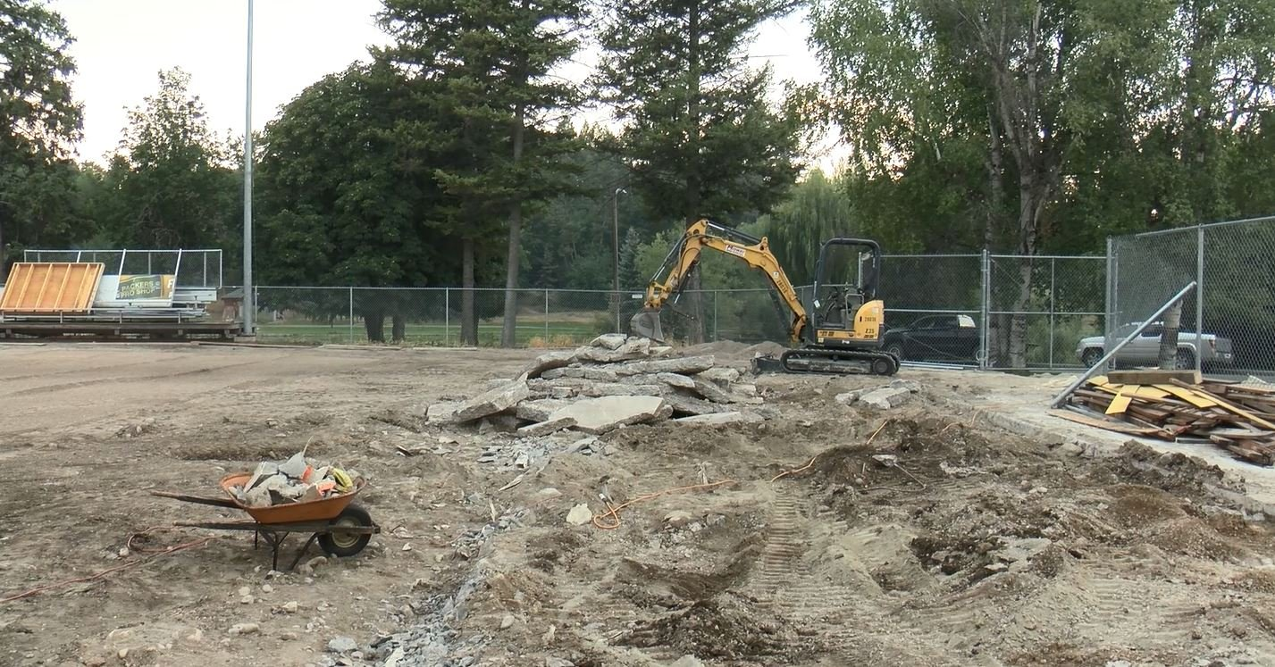 The rink is expected to open the third week in October. (MTN News photo)