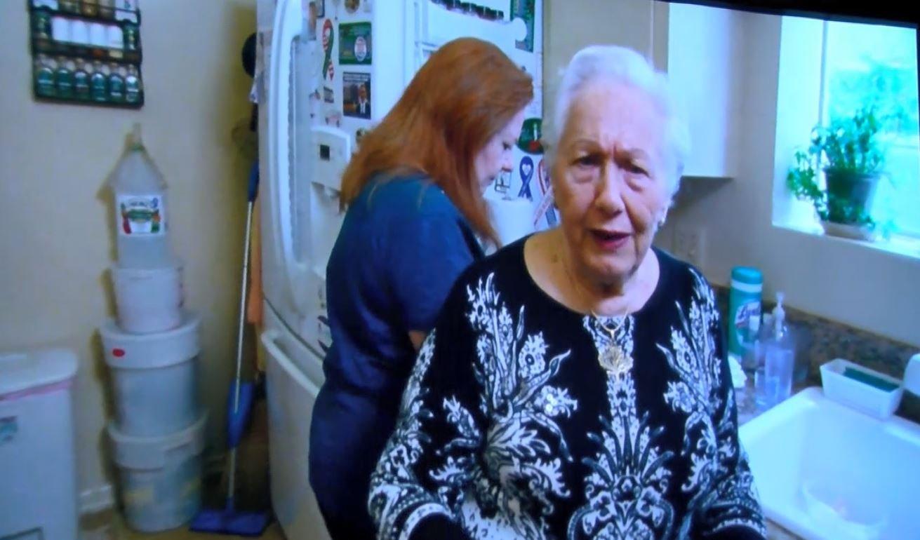 The Last Laugh focuses on Renee Firestone, a 93-year-old Auschwitz survivor.(MTN News photo)