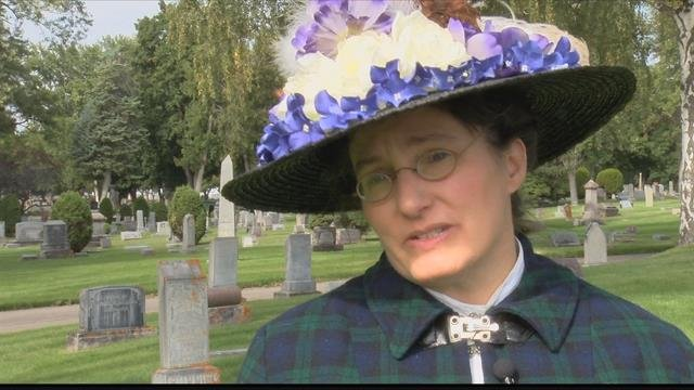 The Missoula City Cemetery held their annual Stones and Storiesevent on Sunday. (MTN News photo)