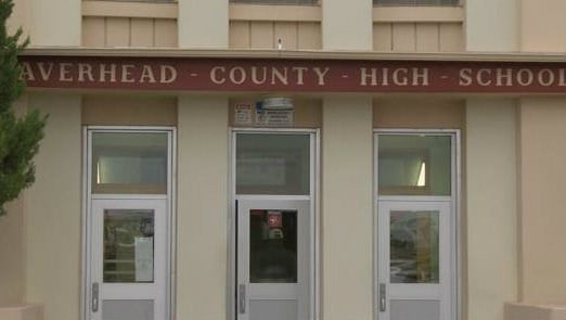 Beaverhead County High School in Dillon (MTN News photo)