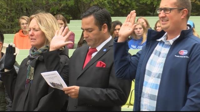 Friday's event was the second Naturalization Ceremony that Glacier National Park has hosted. (MTN News photo)