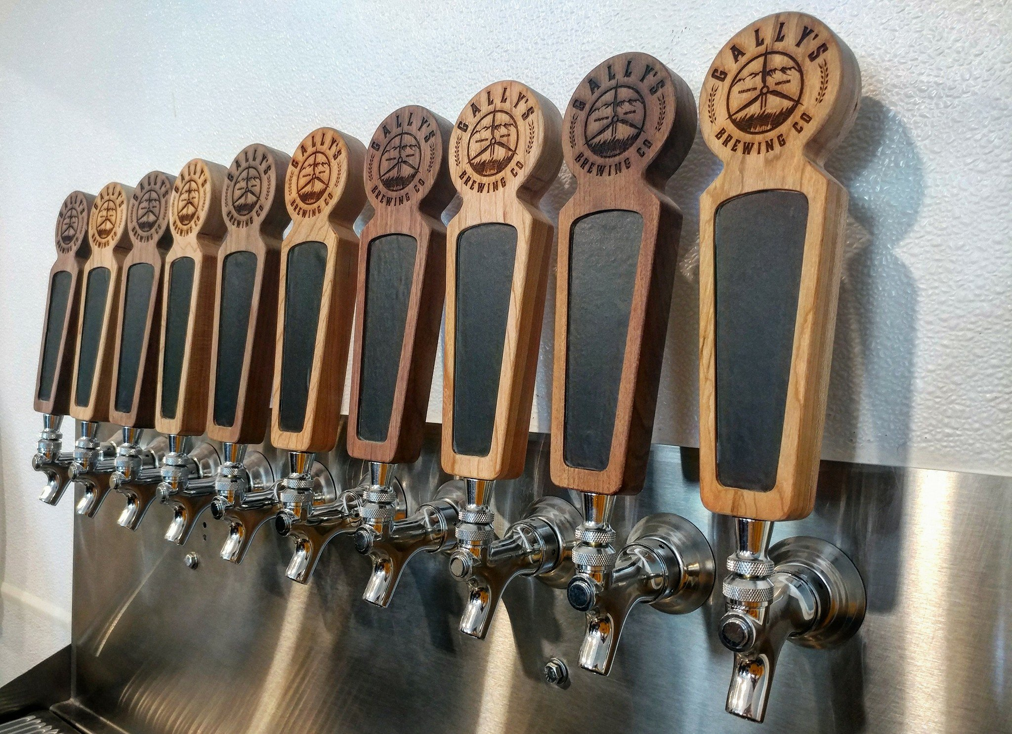 Gally's Brewing will offer 10 taps when it opens in Harlowton in December. (Gally's photo)