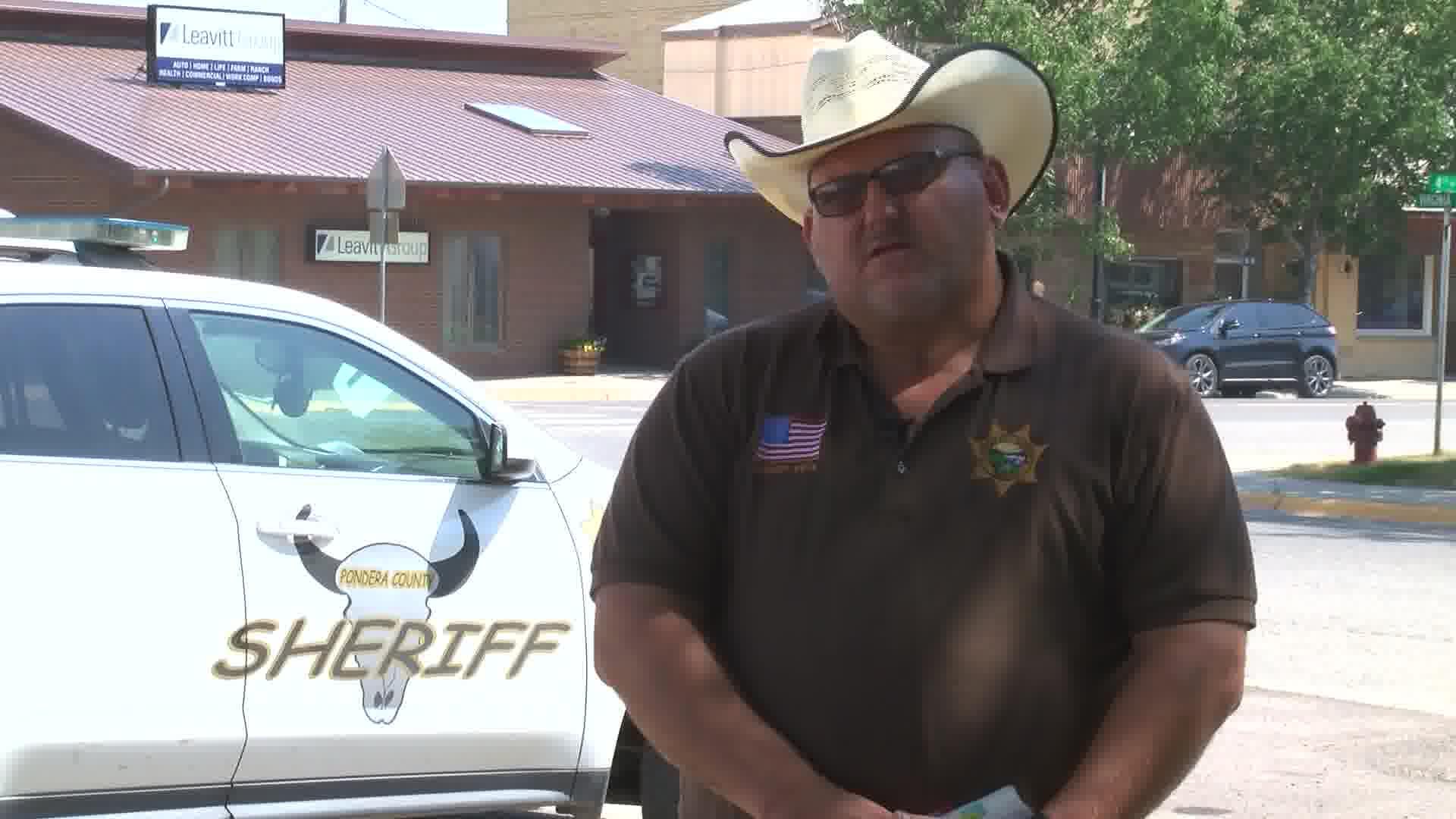Pondera County Sheriff Carl Suta (MTN News photo)