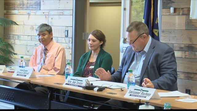 Sen. Tester brought his listening tour about the US Farm Bill to Missoula. (MTN News photo)