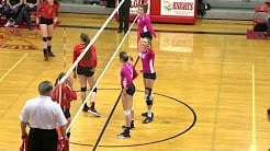 The Spartansdominated all three sets and swept past the Knights 3-0. (MTN News photo)
