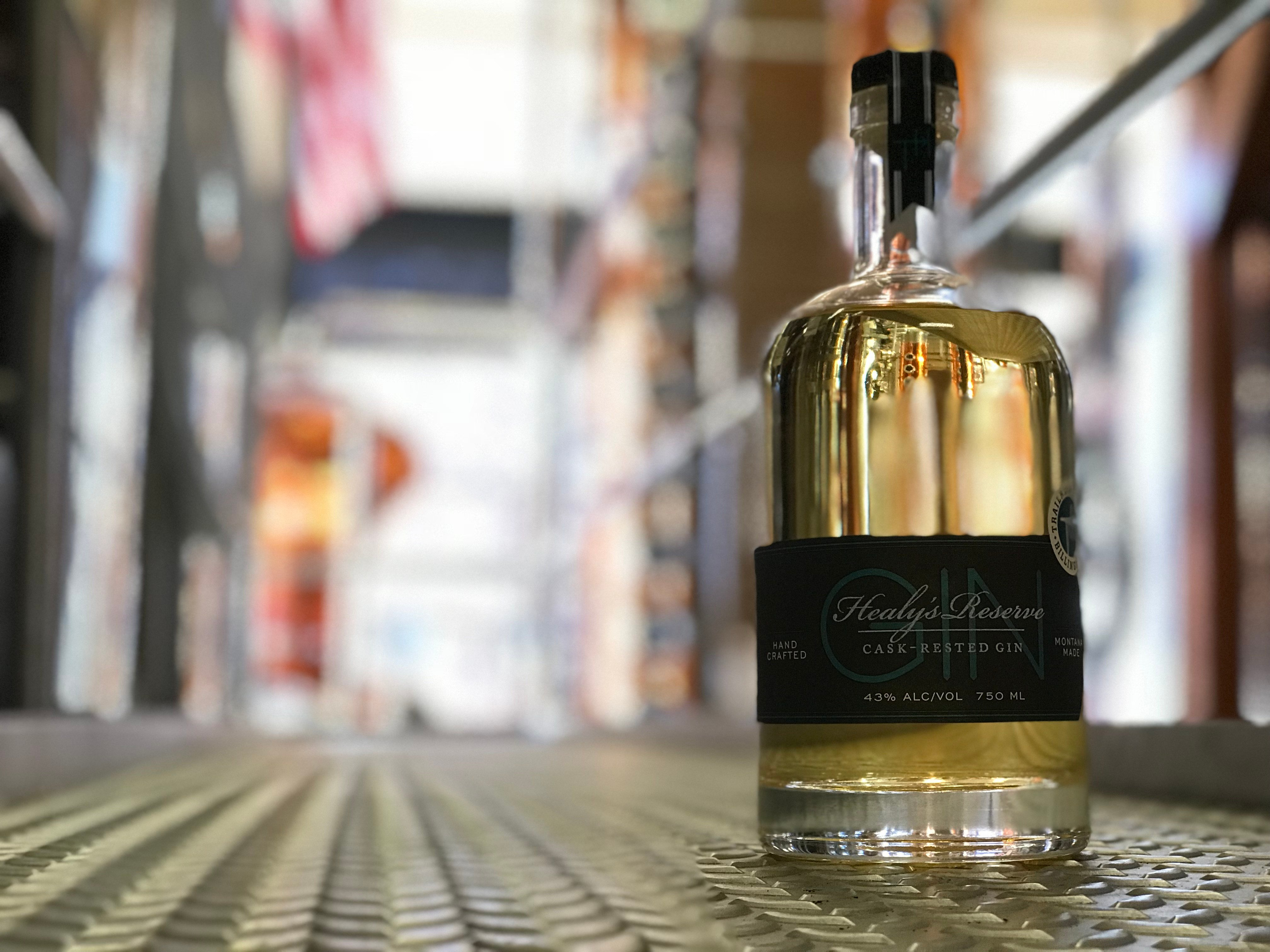 Making hand crafted spirits is a labor of love for Casey McGowan, who opened Trailhead Spirits in January 2013.  (MTN News photo)