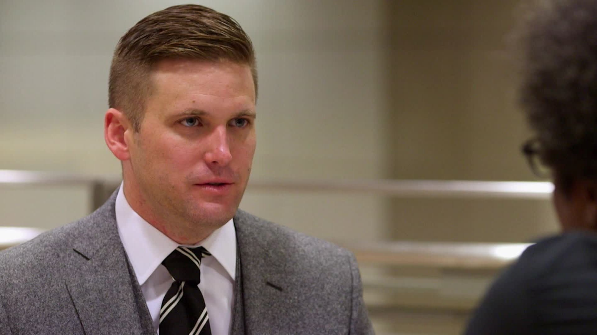 The University of Florida in Gainesville is bracing for a day of protests Thursday when white supremacist Richard Spencer arrives to deliver a speech on his racist views on campus. (CNN photo)