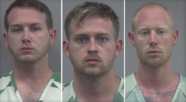 William Fears, left, Colton Fears, center, and Tyler Tenbrink. (Gainsville PD)