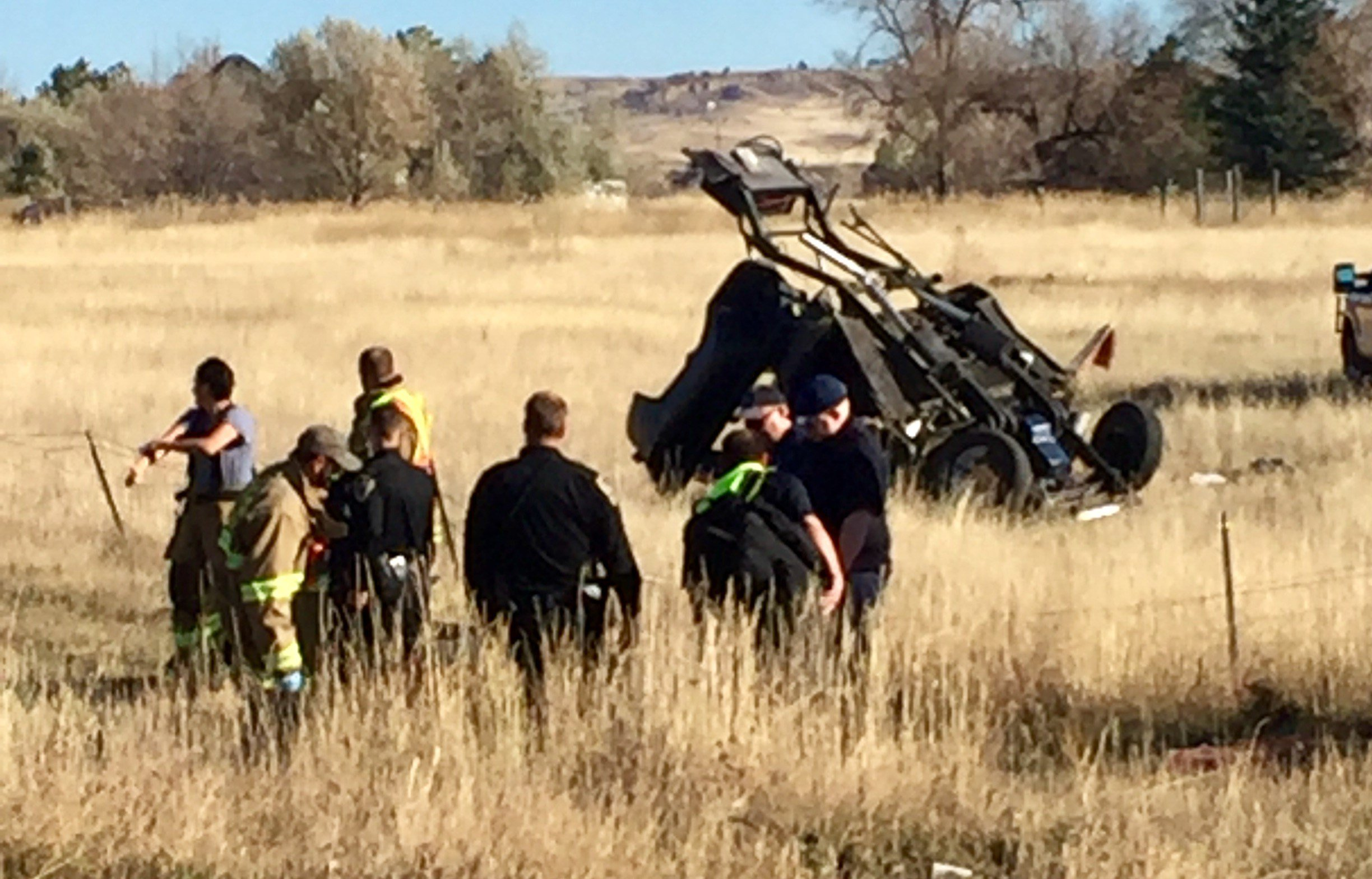One man is dead and another was injured after a rollover on US Highway 312 Saturday afternoon. (MTN News photo)