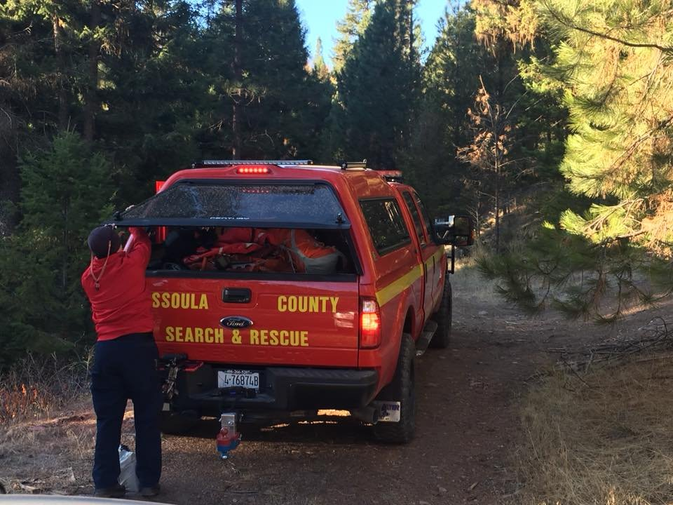 Crews are searching for a pair of hunters from Missoula. (photo credit: Missoula County Sheriff's Office)