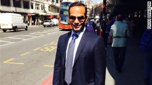 George Papadopoulos in an undated photo. (Linkedin)