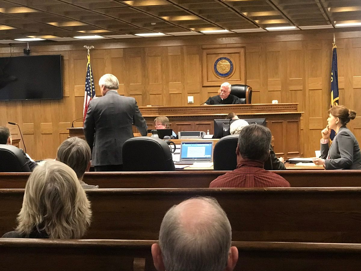 The defense for former Florence doctor Chris Christensen has been calling witnesses on Monday. (MTN News/Augusta McDonnell photo)