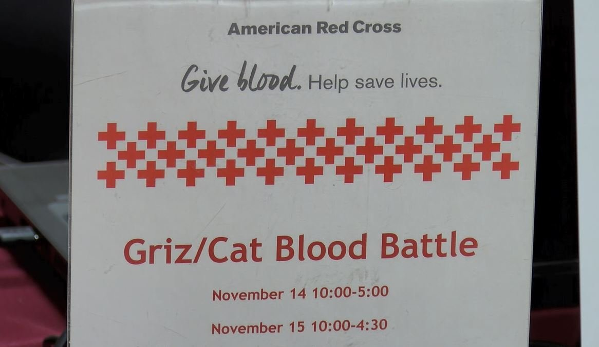 The blood drive runs from 10-3 inthe UC Ballroom on Wednesday. (MTN News photo)