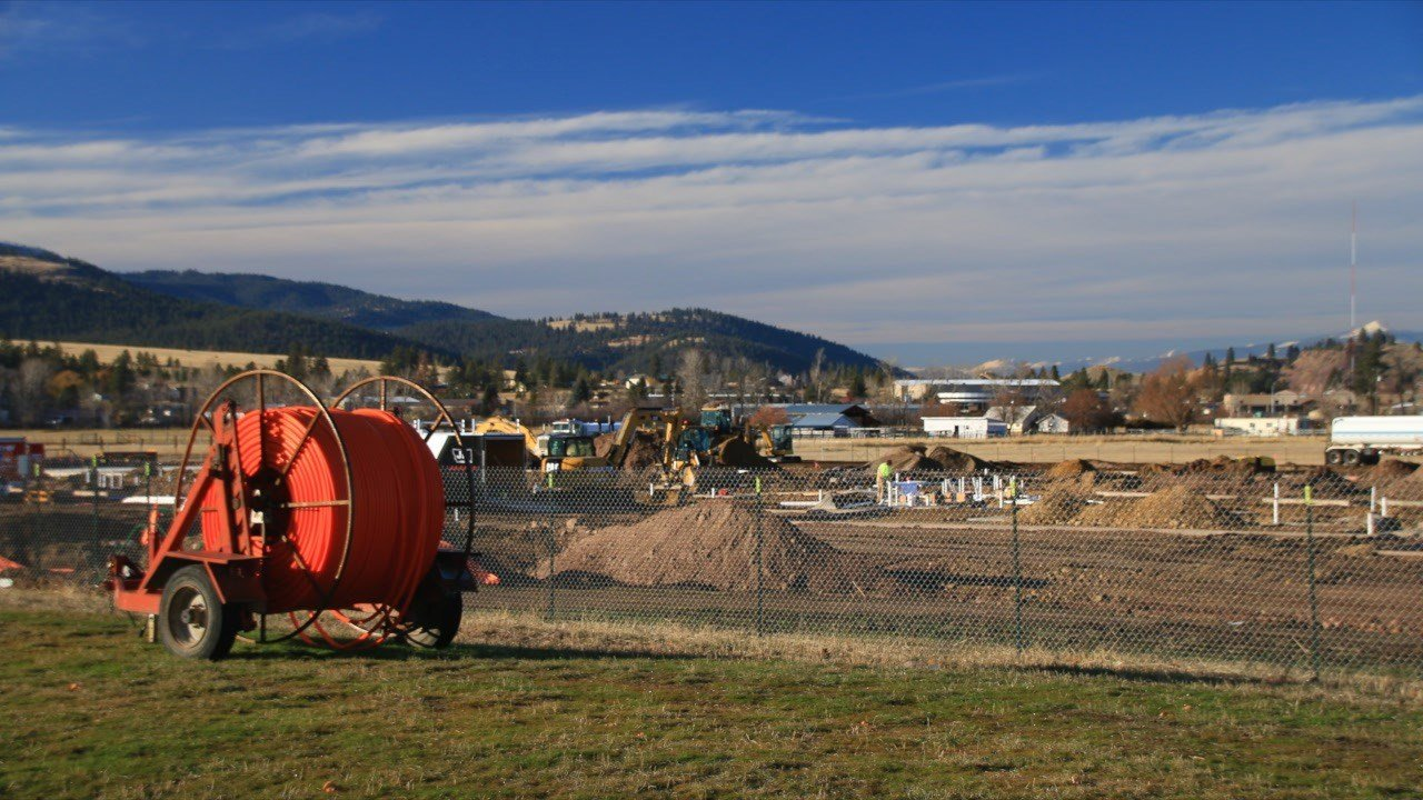 Miller Creek School site. (Dennis Bragg photo)
