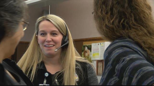 When Shelly Abbott dialed 911, dispatcher Megan Haynes answered - and it was the start of an unforeseeable bond. (MTN News photo)