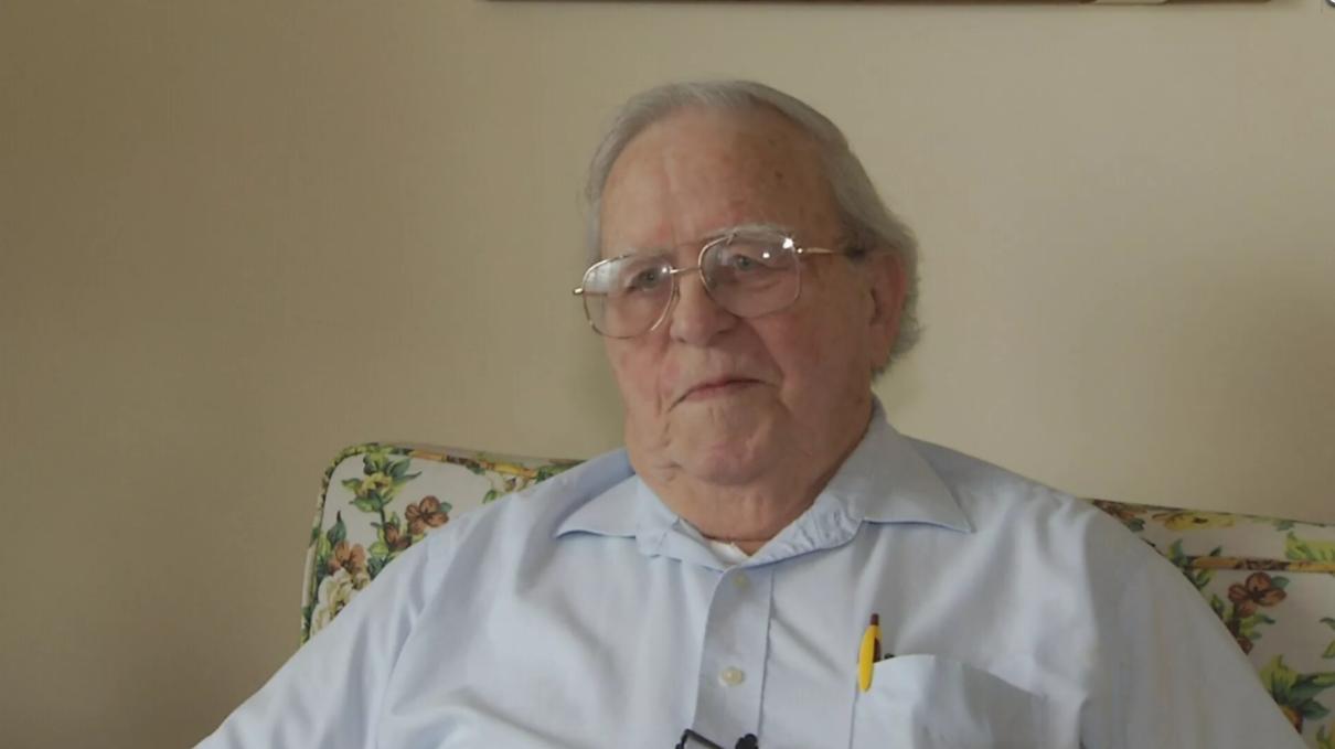 John Olsen, Billings veteran of U.S. Navy. (MTN News photo)