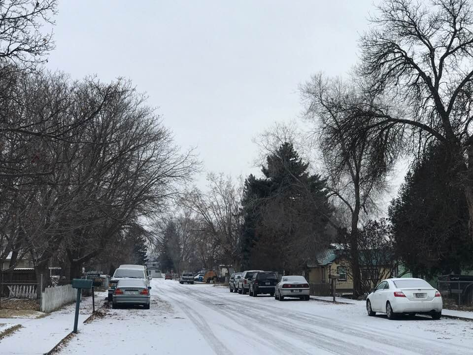 Police were called to a home in the 2100 block of S 12th St. W  for a report of the discovery of possible human remains. (MTN News/Augusta McDonnell photo)