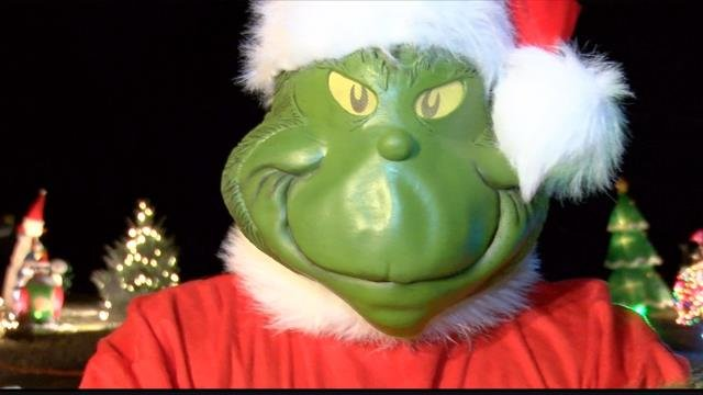 This Missoula Grinch is helping those in need. (MTN News photo)