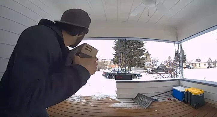 It's common this time of year for the theft of delivered packages.(MTN News photo)