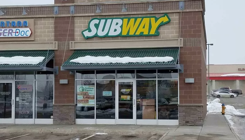 The Subway store on North Sanders in Helena (MTN News photo)