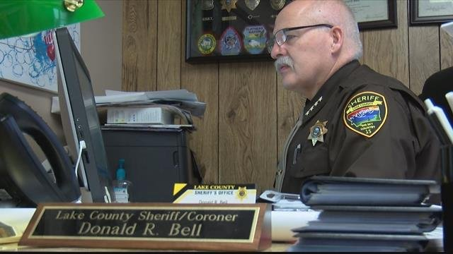 Lake County Sheriff Don Bell (MTN News photo)