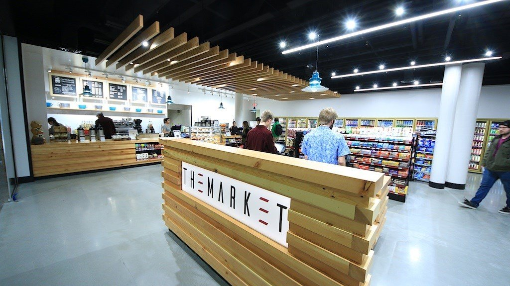 The newly remodeled UC Market is open daily until 9 p.m. (Dennis Bragg/MTN News photo)