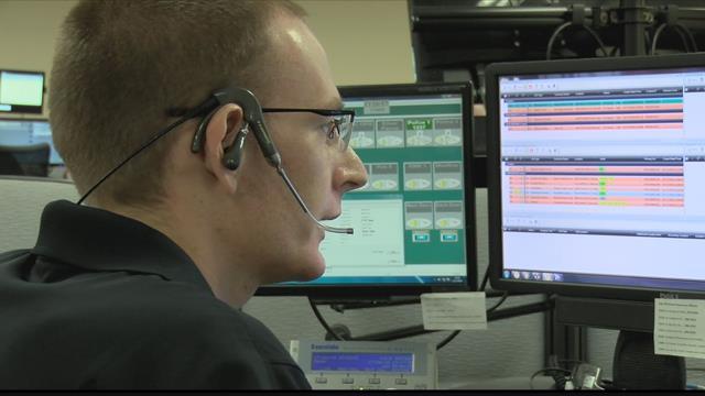Missoula County 9-1-1 dispatcher JD Sessions (MTN News photo)