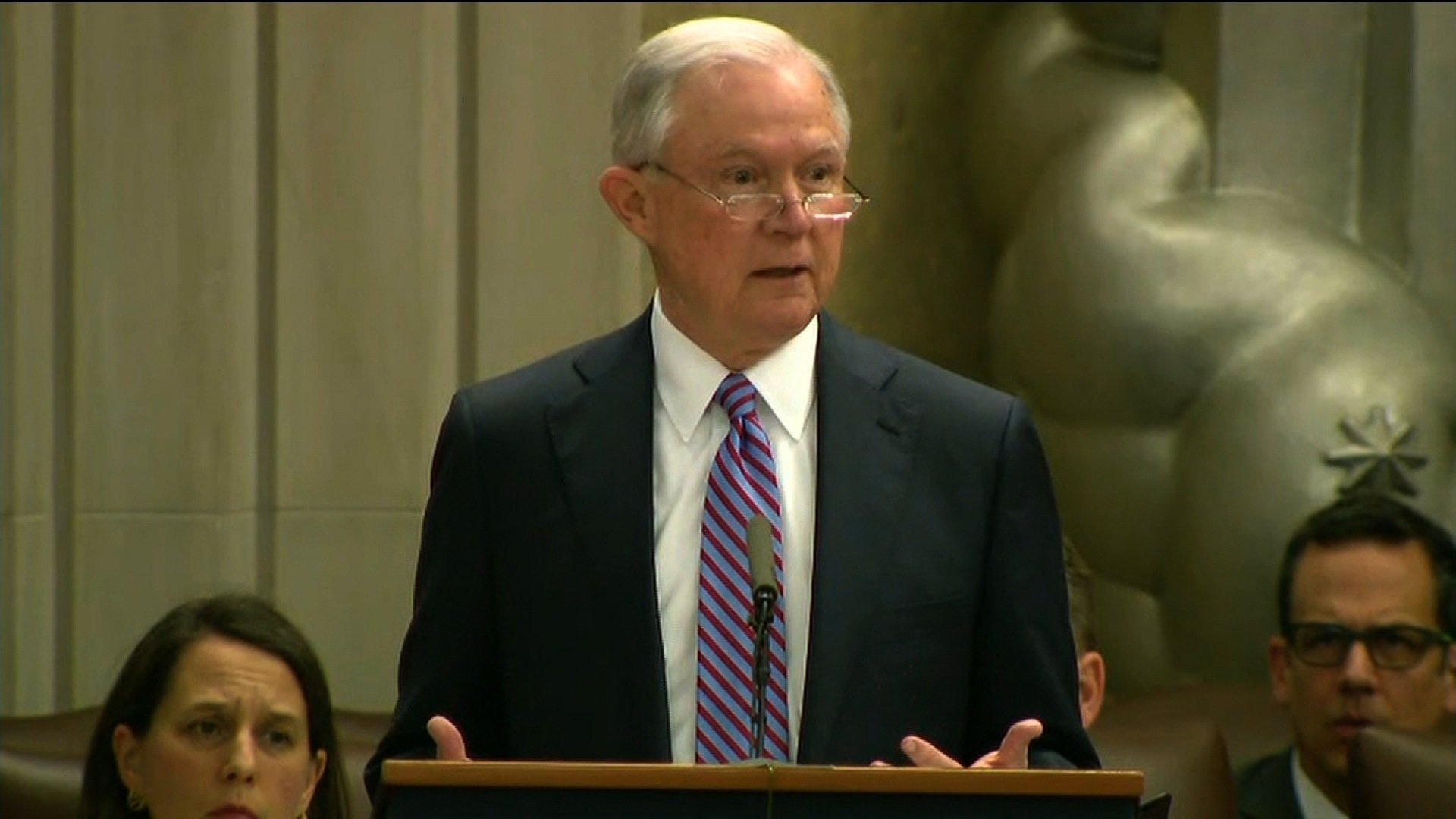 Attorney General Jeff Sessions (CNN photo)