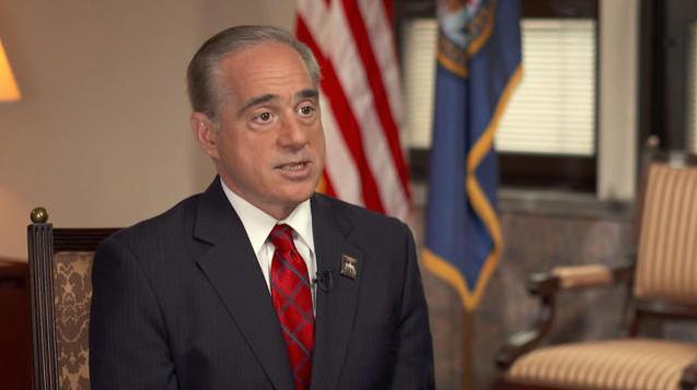 Veterans Affairs Secretary David Shulkin. (CBS News)