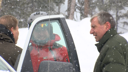 Flathead County Sheriff Chuck Curry is leading the search. (MTN News photo)