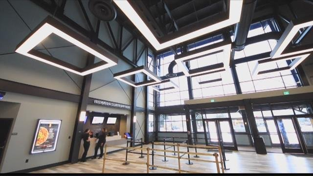 A new entertainment option preparing to open in Missoula, as AMC Theaters open the new Southgate Mall 9 this coming week.(MTN News photo)