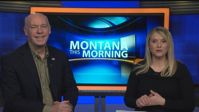 Rep. Greg Gianforte (R-MT) appearing on Montana This Morning on 3.12.18.