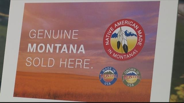 """The MT Dept. of Commerce is helping grow from within thanks to thelittle """"Made in Montana"""" logo stamped on tags. (MTN News photo)"""