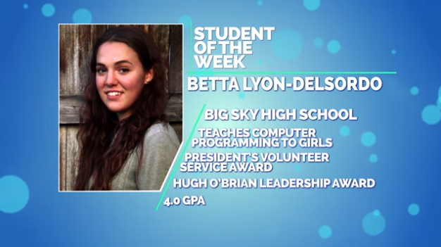 Betta Lyon-Delsordo is a senior at Big Sky High School.